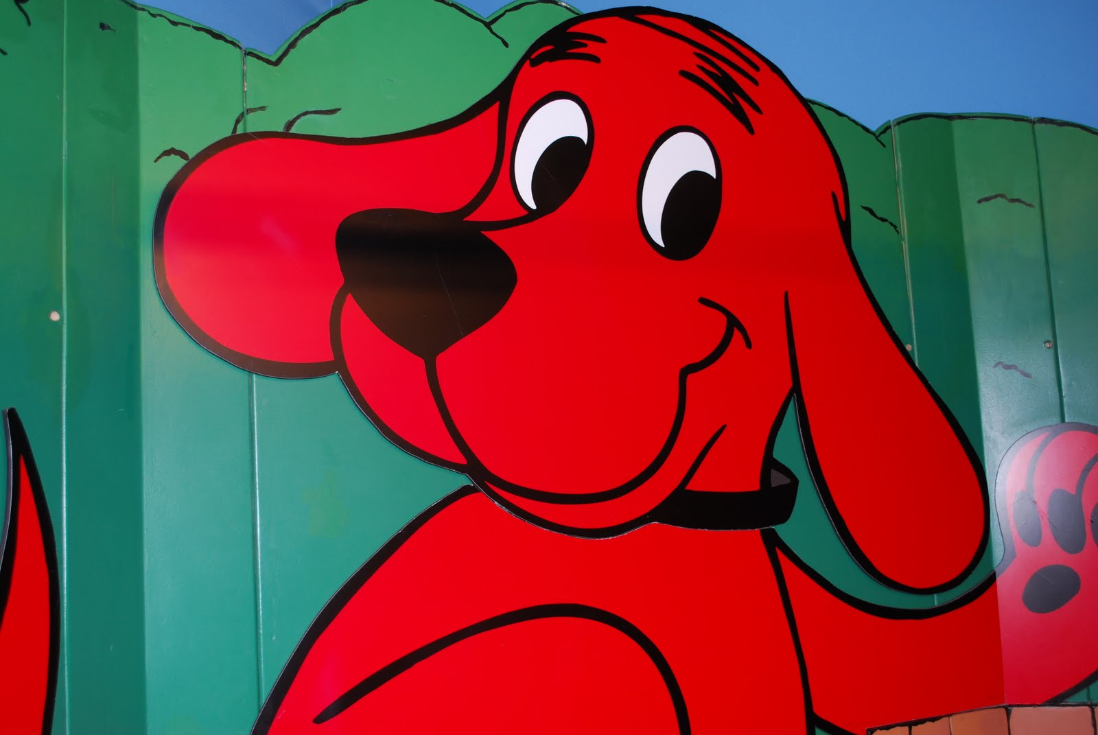 Baby Wogs Clifford The Big Red Dog