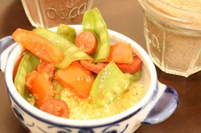 Couscous1 - Couscous marroquino com vegetais