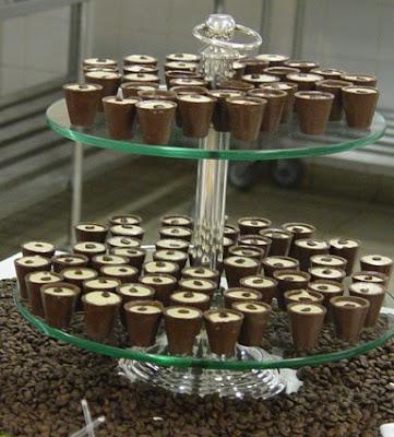 Helado+de+Caf%C3%A9 - >Senac - Alunos capricham no coquetel de abertura da Semana Mesa SP
