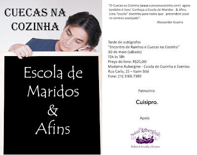 Convite+Madame+Aubergine bx - >Encontro de Rainhas e Cuecas na Cozinha