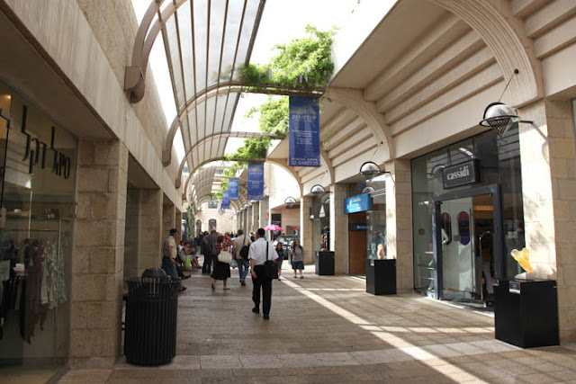Jerusalem, Mamilla  open Mall