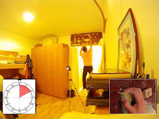 Training on home made hangboard