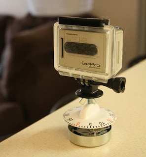 GoPro Time Lapse on Kitchen Timer