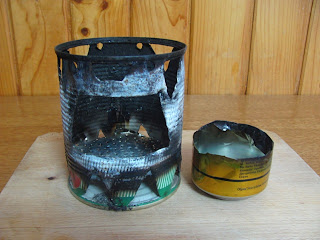 Alcohol Stove Made of Beer Can