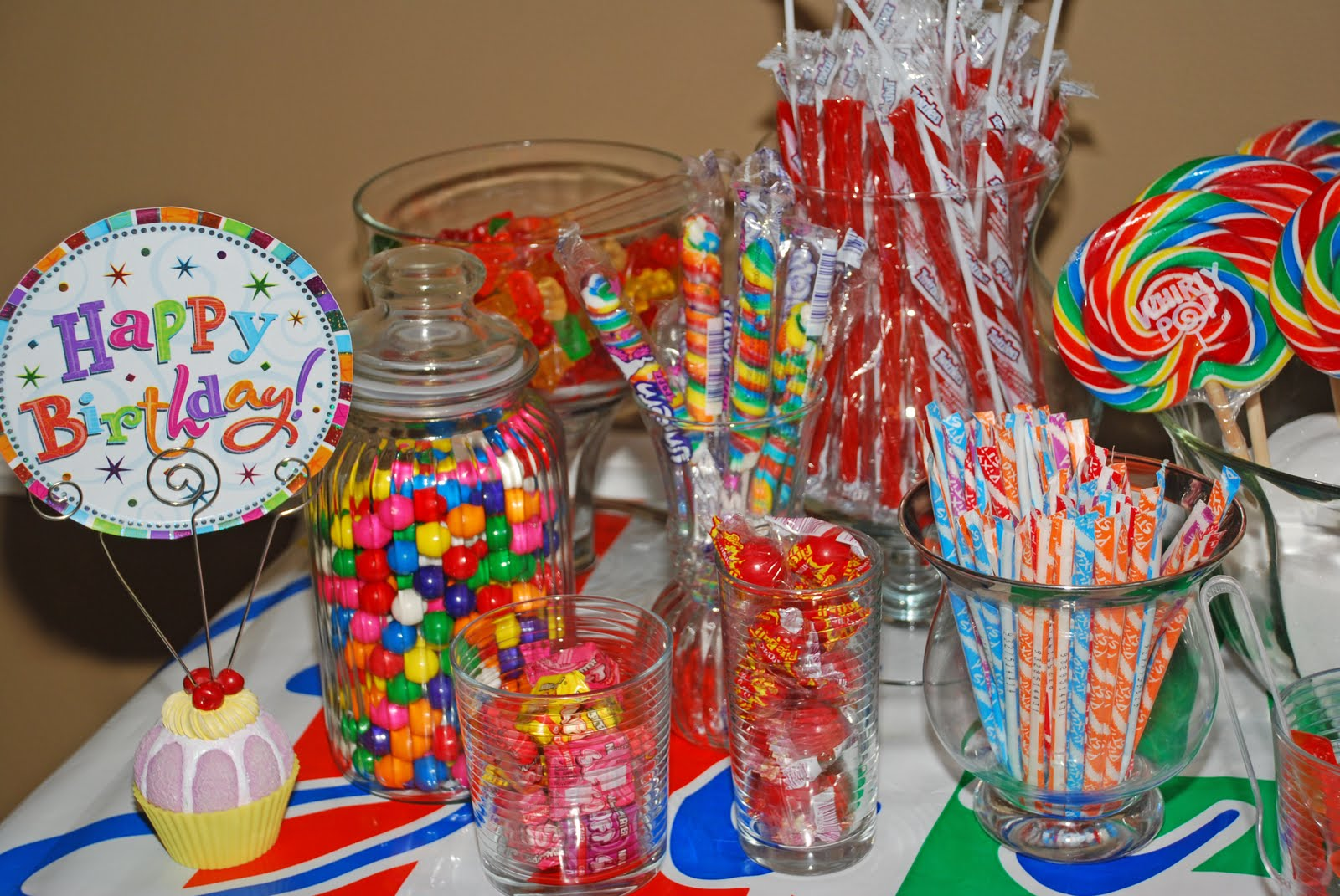 Kids Candy Buffet Cake Ideas And Designs