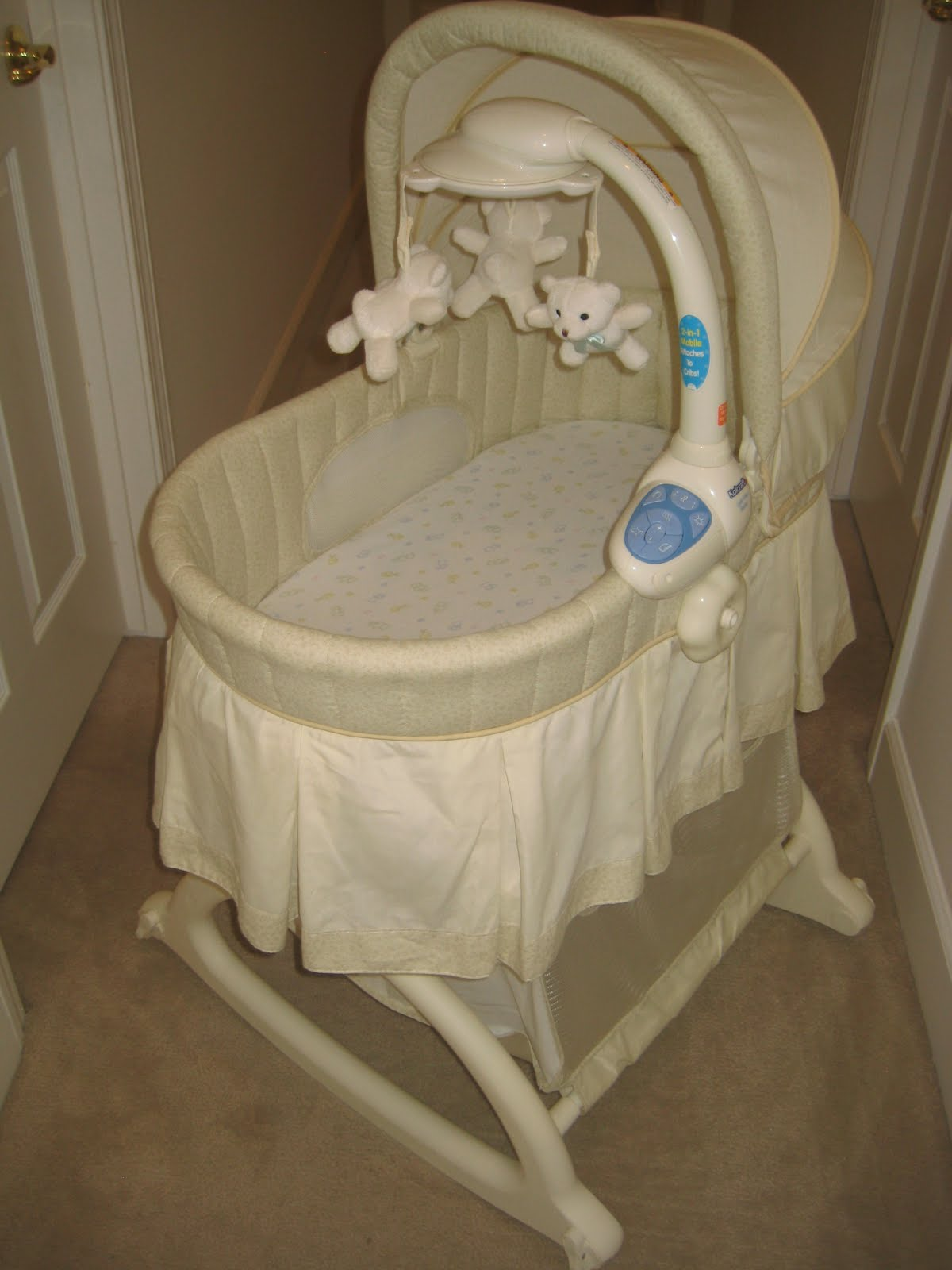 Baby Bassinet Pottery Barn Kid 39;s Clothes And More Store Kolcraft Cuddle 39;n Care