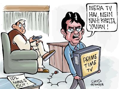 Modi decides to host IPL abroad