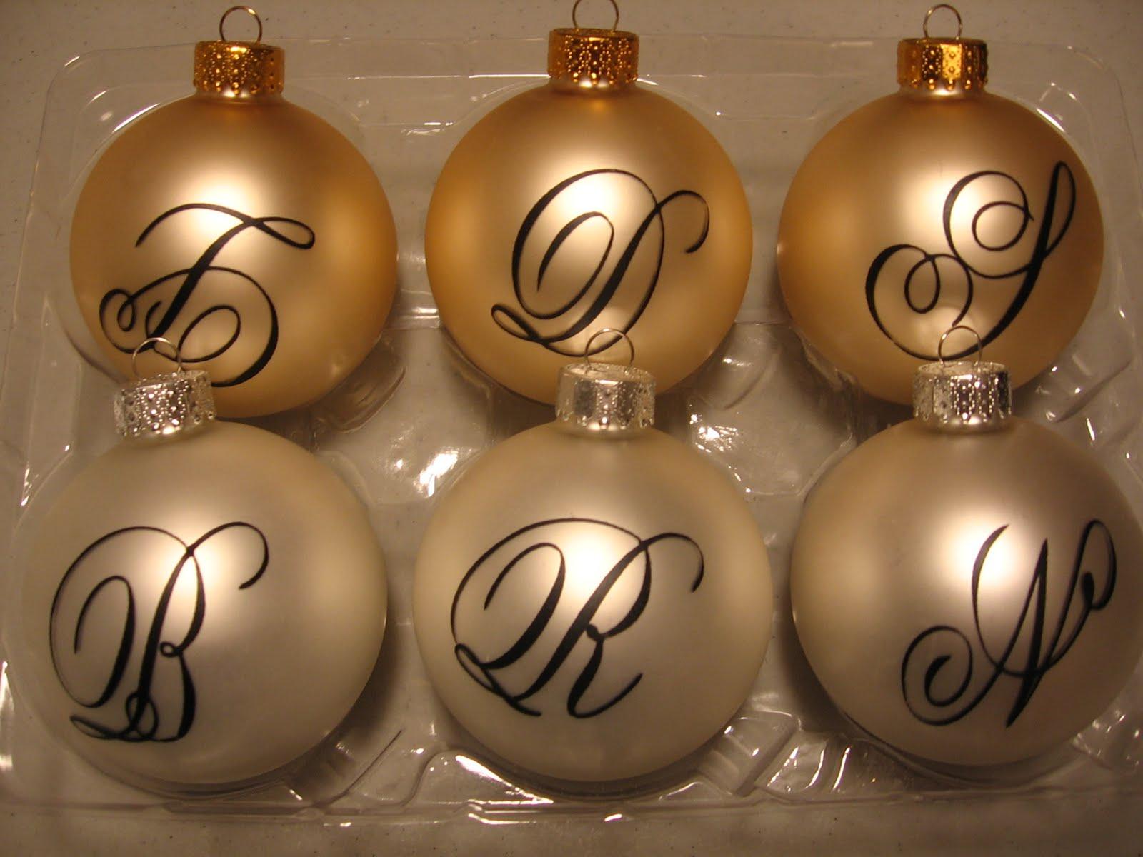 Santa's Gift Shoppe Year~Round: Monogrammed Heirloom ...