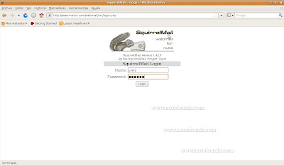 SquirrelMail-Login