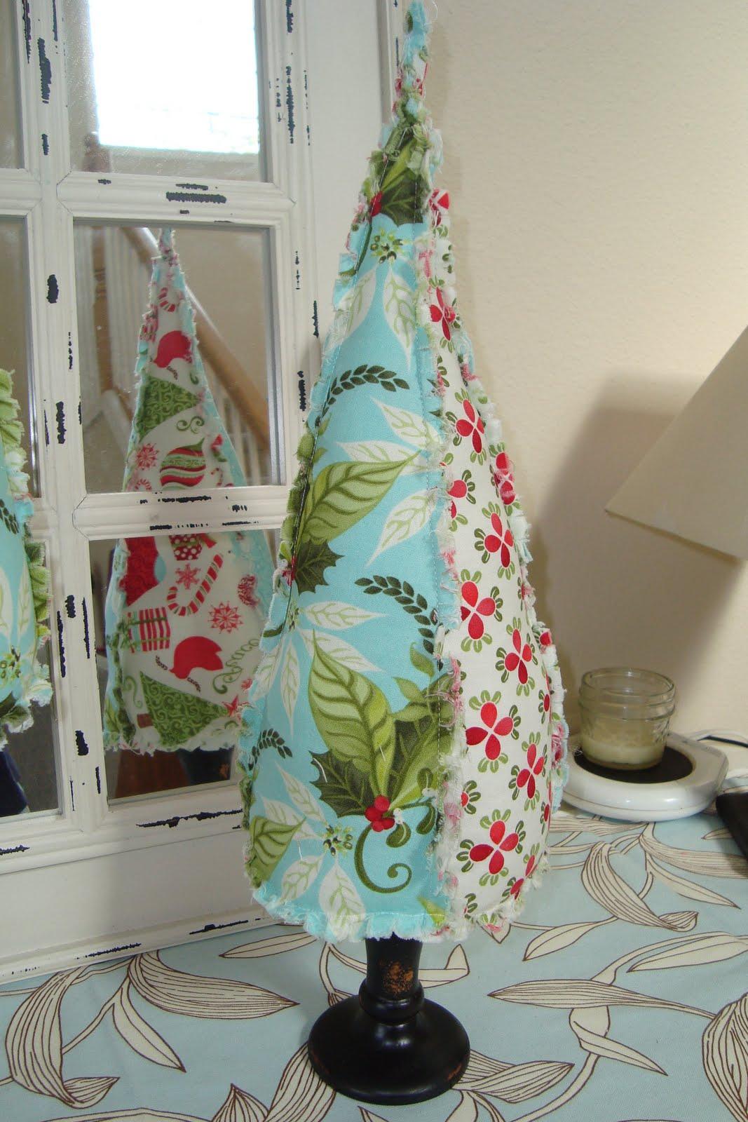 Christine S Favorite Things Fabric Christmas Trees