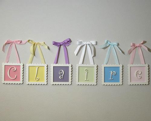 Sugar And Shimmer: DIY Nursery Decorations