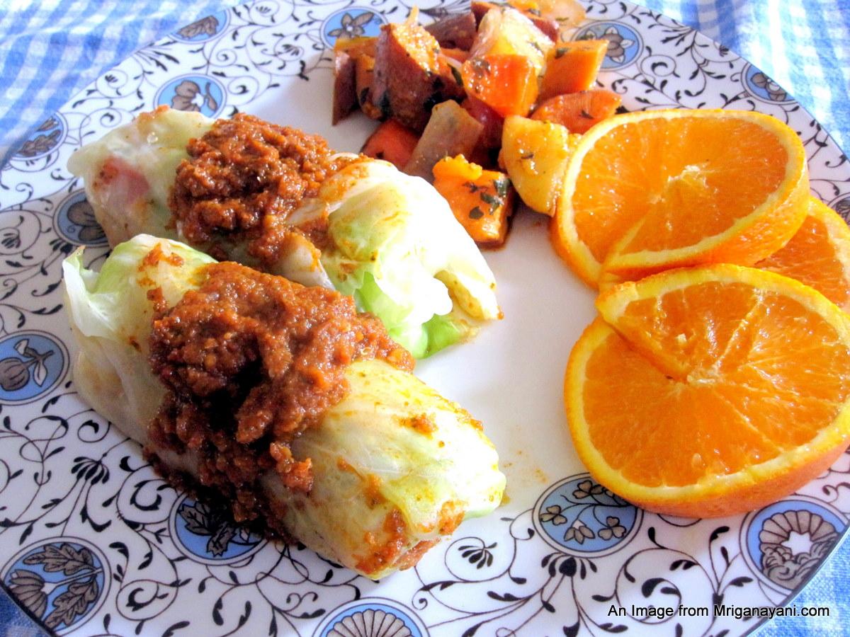 Love \u0026 Lentil: Quinoa Stuffed Cabbage Rolls