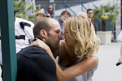 Jason Statham et Amy Smart dans Hyper tension 2