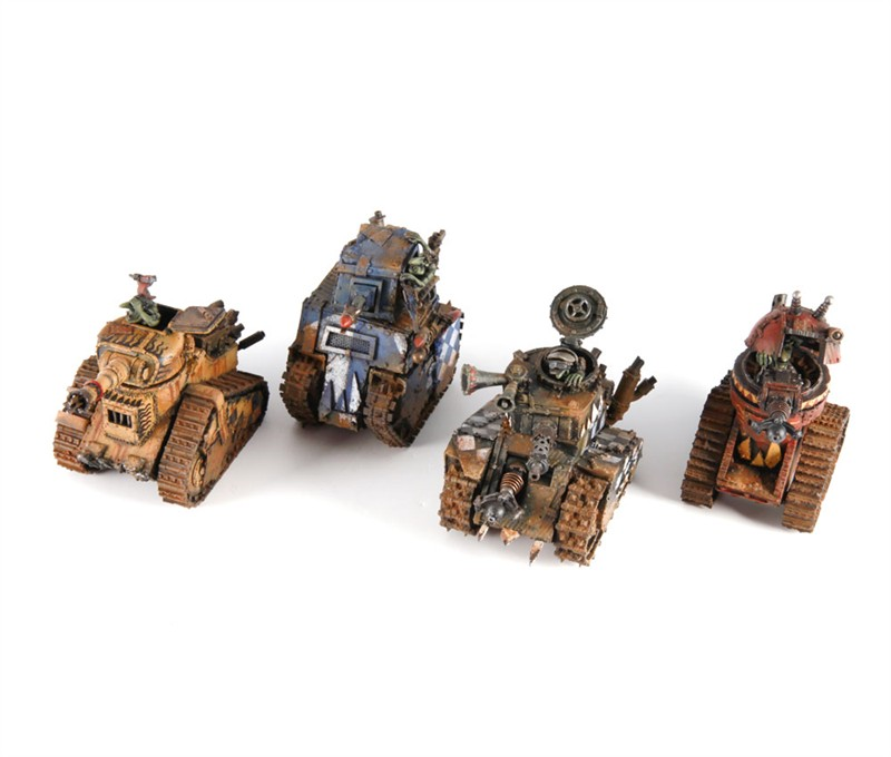 Grot Tanks are 'ere! ~ The Orky Fort Your HQ for Warhammer