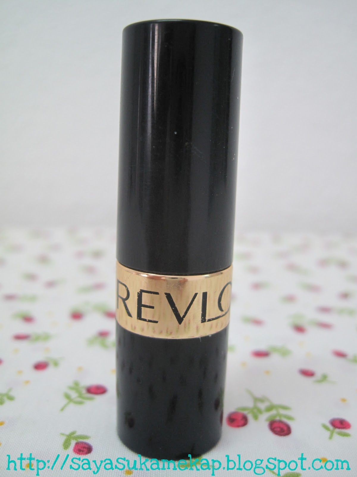 SayaSukaMekap: Review: Revlon Super Lustrous Lipstick in