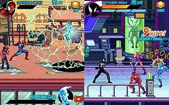 Best free java games: Spider-Man: Toxic City (JAVA game for