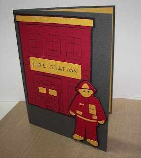 I Needed To Make My Daughters Boyfriend A Birthday Card He Is Volunteer Firefighter In His