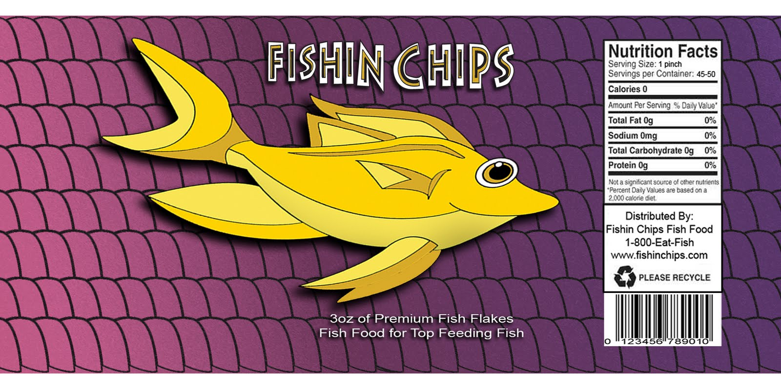 Marlin Carpenter Iii Week 5 2 Fishin Chips Fish Food