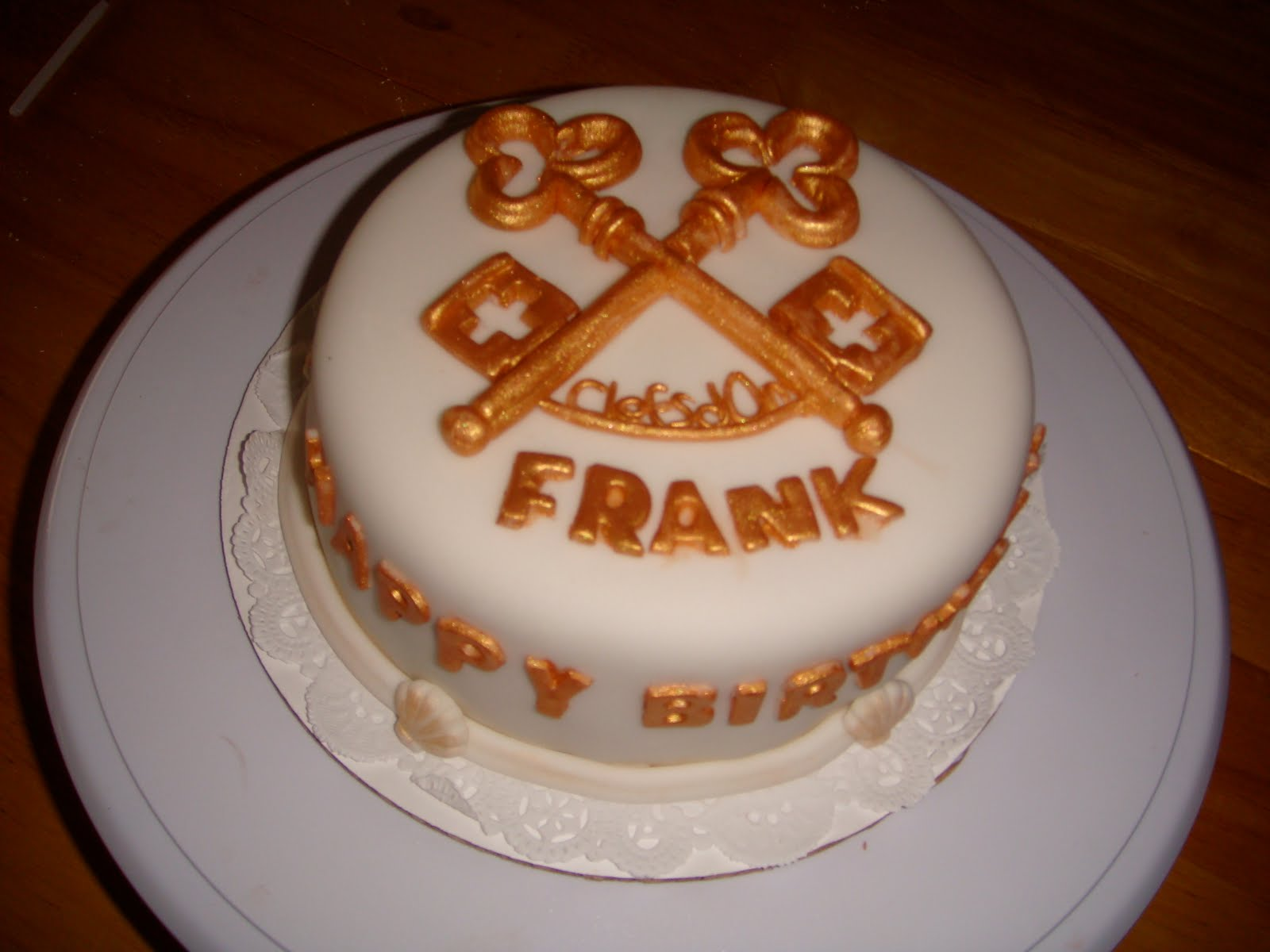 Frank Birthday Cake Sinatra Cakes Paul Monkey