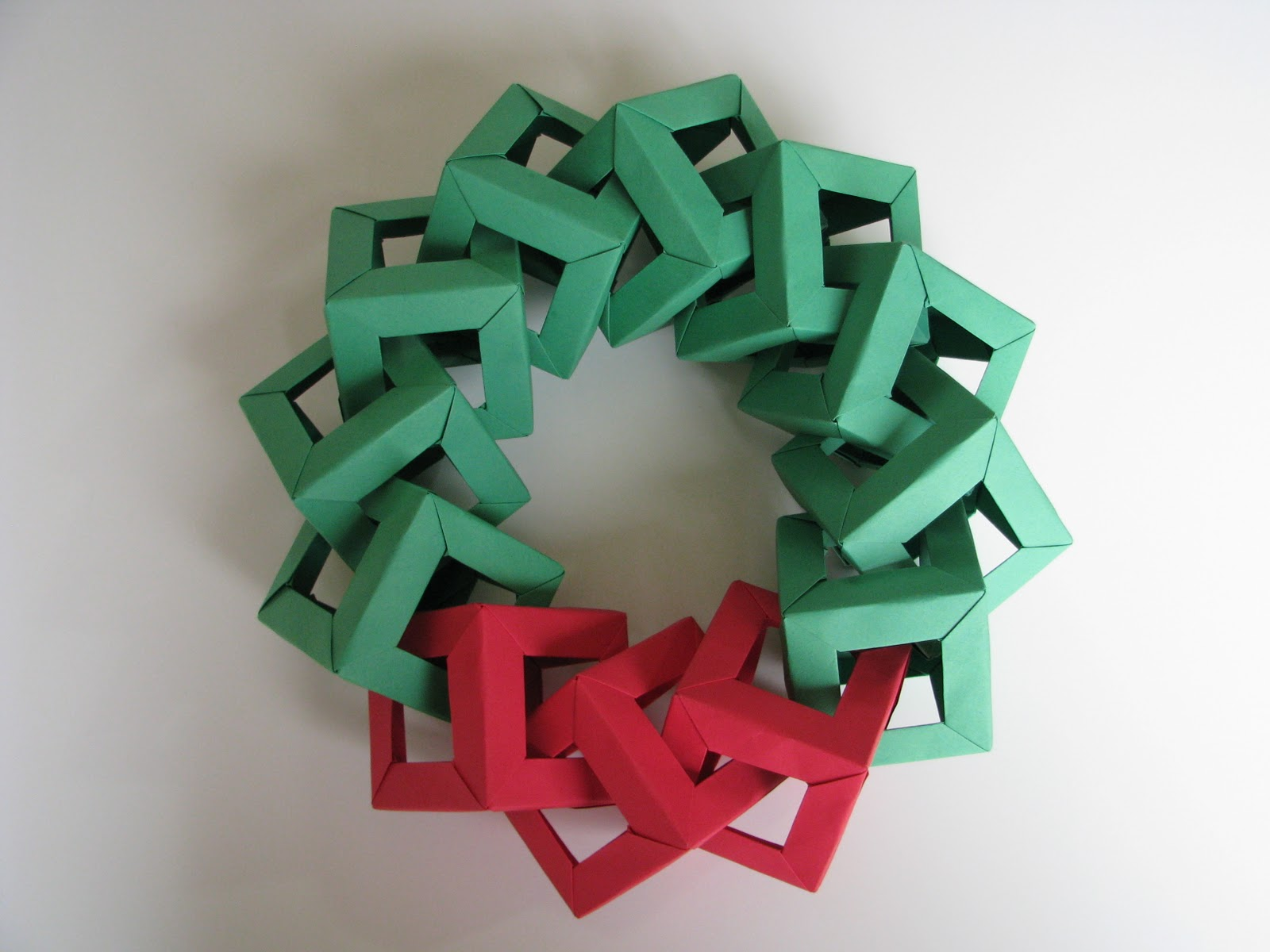 Lets Make Origami: Origami Christmas Decorations - Origami ... - photo#24
