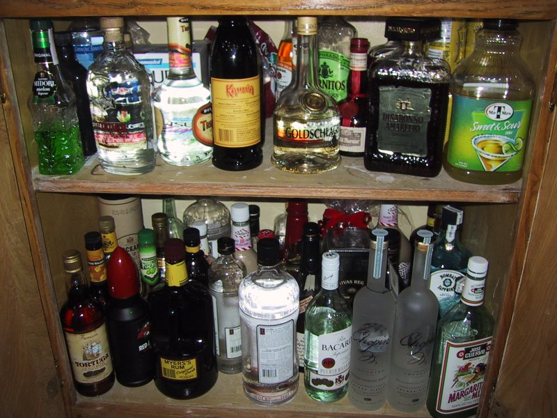 Cheap Liquor Cabinet Ideas