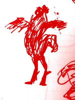 Cock A Doodle Doo After Lautrec