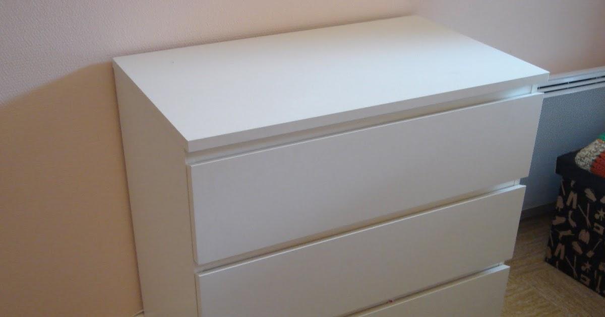 vente petit prix commode ikea malm 35 3 tiroirs. Black Bedroom Furniture Sets. Home Design Ideas