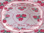 Mimi's Rose Blog Giveaway for February