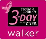 I'm walking in the 2011 3-Day for the Cure