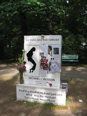 Michael Jackson în Herăstrău