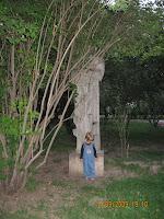 Parcul Floreasca: statuie