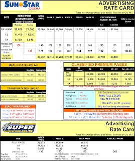 Sun • Star Publishing Ad Rates and Profile