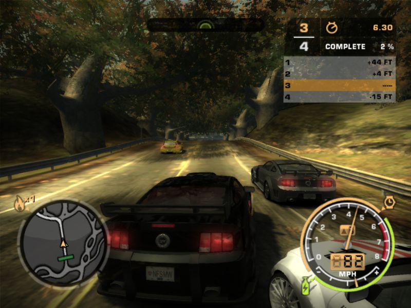 Need for speed most wanted pc savegame.
