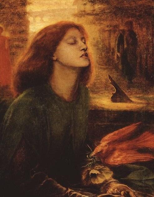 Of Poetry In An Artist S Studio Rossetti Poem