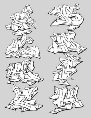 Arrow Graffiti Alphabet Wildstyle Www Picsbud Com