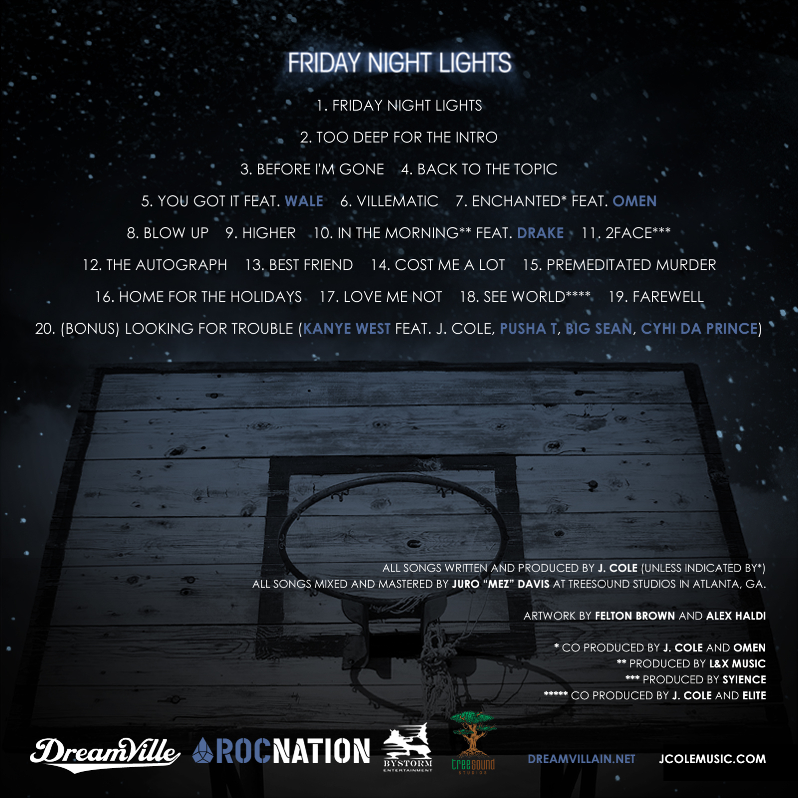 J Cole Mixtape Friday Night Lights