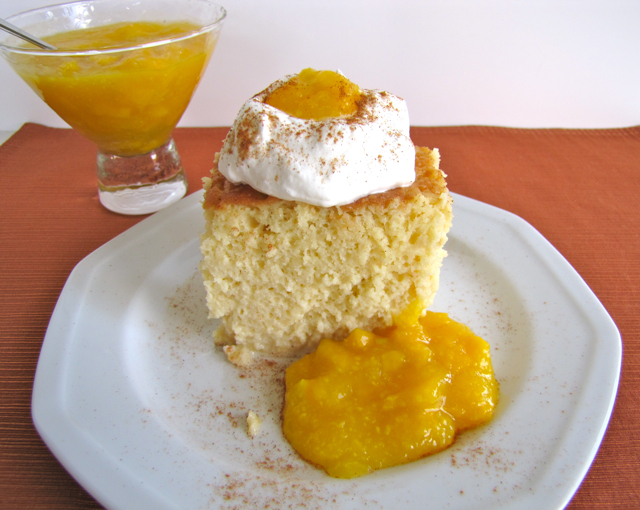 Food Network Alton Brown Tres Leches Cake