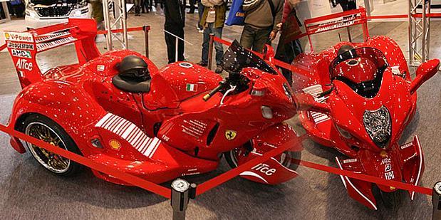 Display Of Motor Sport: MODIFIKASI Ferrari Bikin Motor