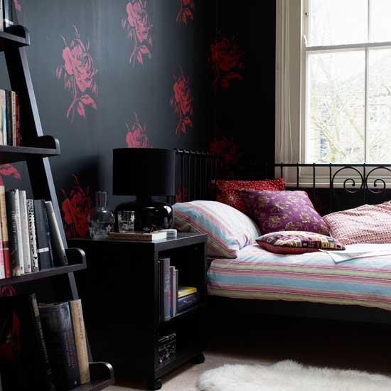 Feast Of My Soul: Dramatic Black Bedrooms