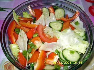 We Love to Eat Vegetable Salad