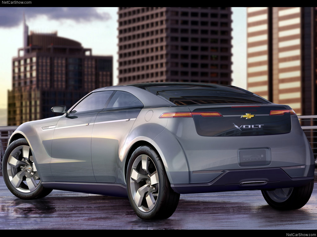 Cars Library: Chevrolet Volt Concept