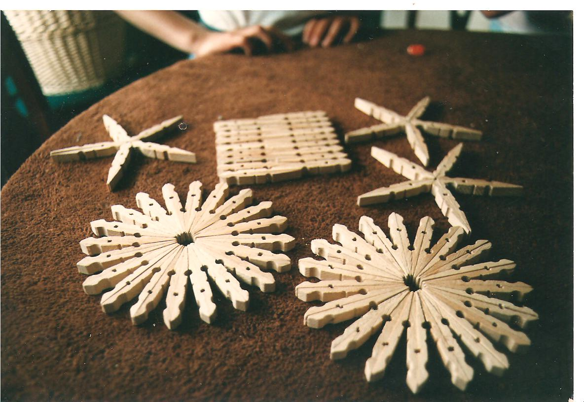 Craft Ideas Using Wooden Clothes Pegs