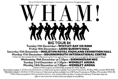 5d3941cb95f4 December 82 : George and Andy enjoyed their first U.K hit with Young Guns  (Go For It). December 84 : in a space of two years, the boys from Wham!  became ...