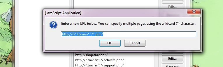amroll's travian guide: How to : Remove Error on Travian
