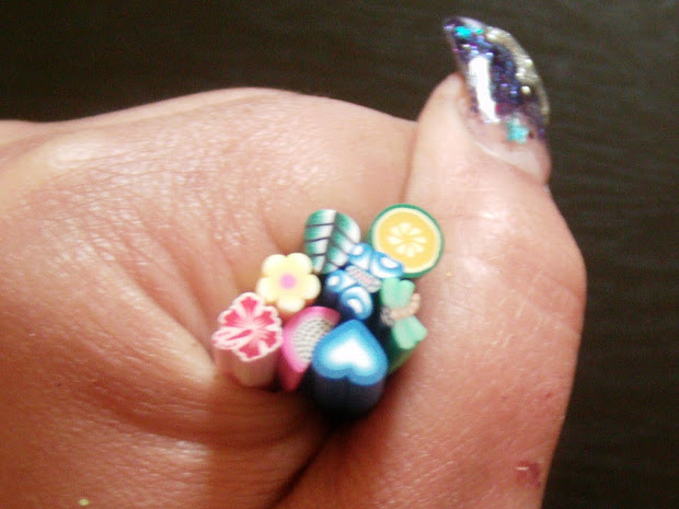 nail art style women cute