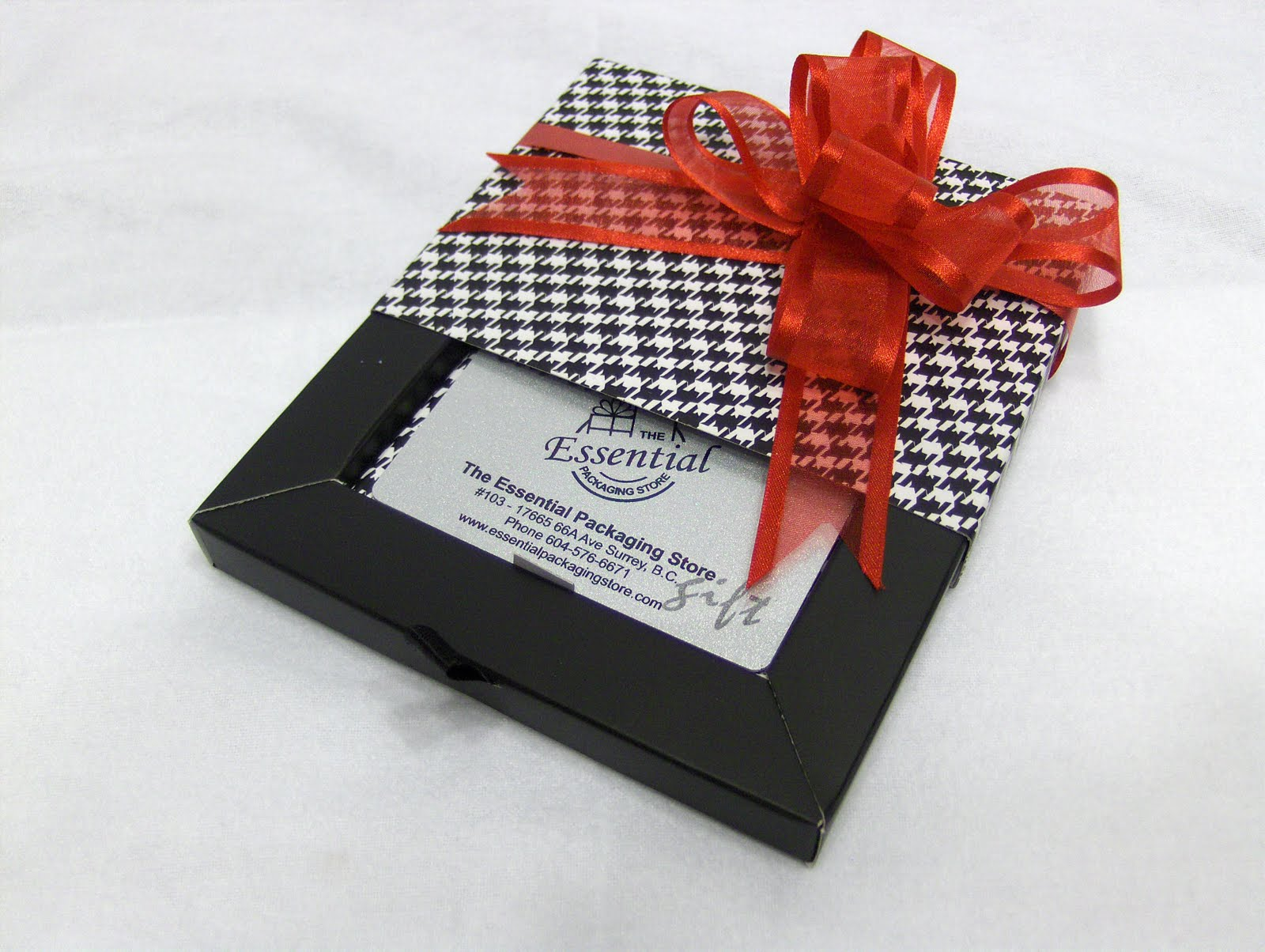 the essential packaging store blog holiday wrapping gift card holders. Black Bedroom Furniture Sets. Home Design Ideas