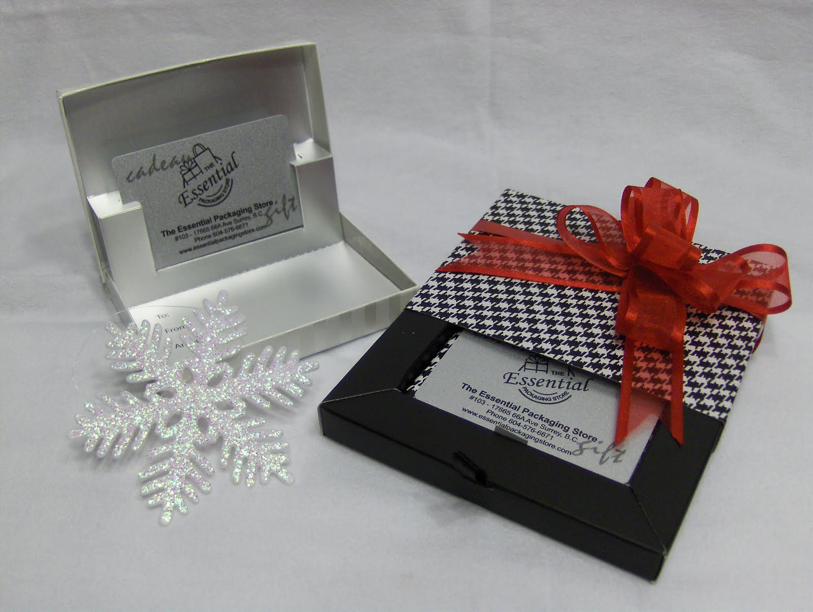 Holiday Wrapping Gift Card Holders Packaging Store