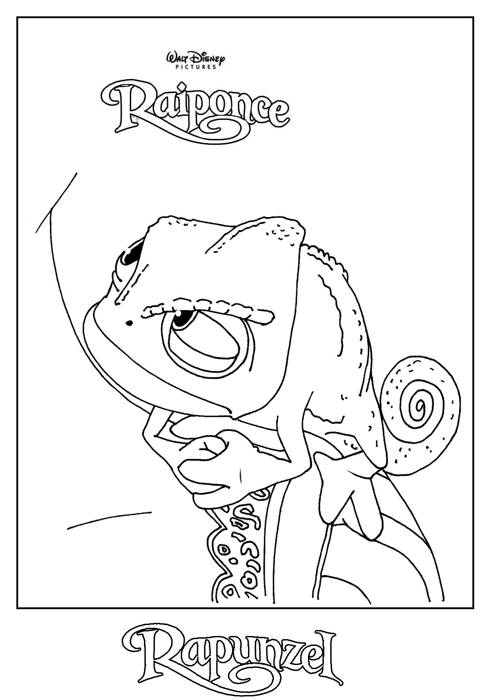 coloriage princesse raiponce  Liberate