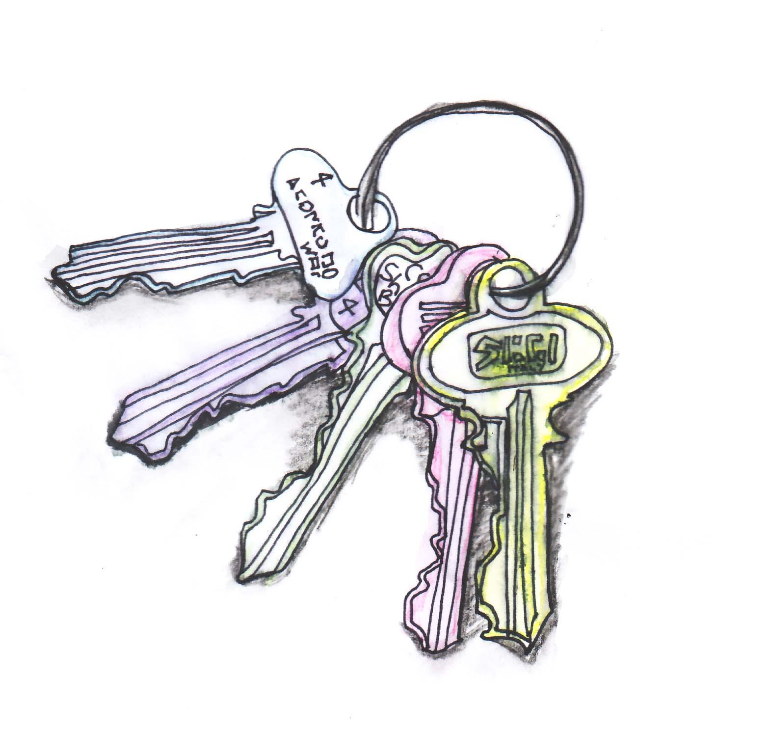 drawn keys