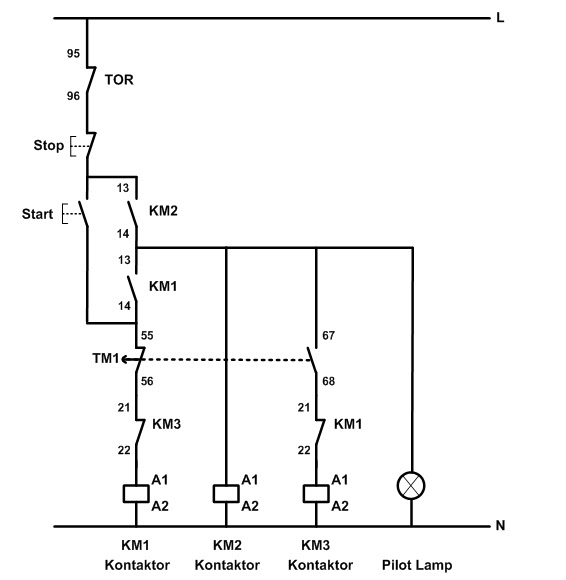 star delta starter control wiring diagram with explanation automatic star delta starter with change of direction of rotation wiring diagram star delta starter